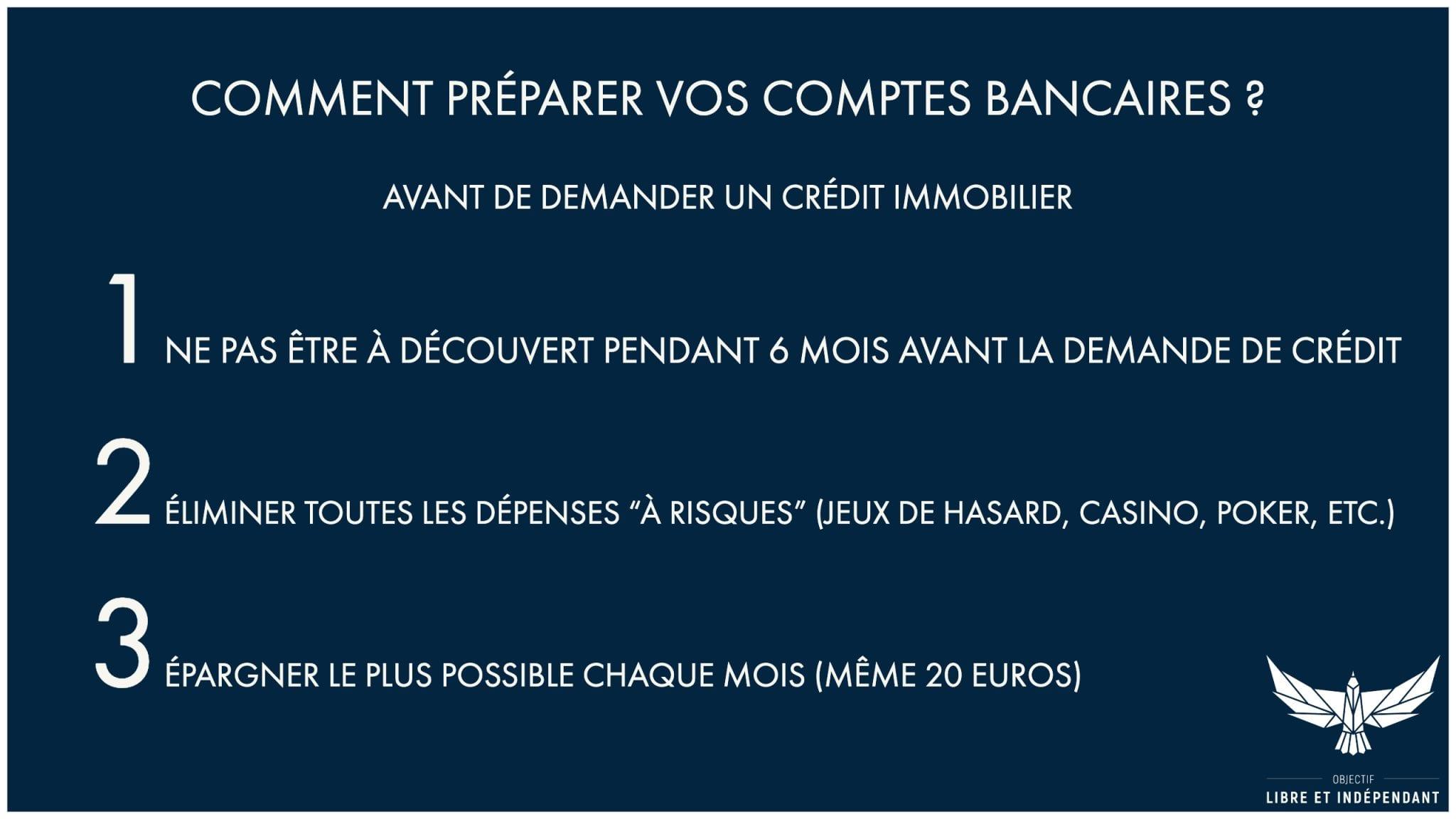 Comment préparer vos comptes pour obtenir un prêt
